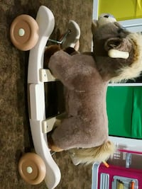 brown and white plush rocking horse Ashburn, 20148