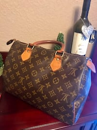 Authentic, Vintage - Louis Vuitton Speedy 30, Monogram satchel bag - Origin, France Newcastle, 98059