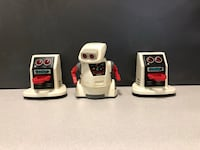 1980s Tomy Toys Crackbot and 2 Tomy Dustbots Untested 30 for all 3 Forney, 75126