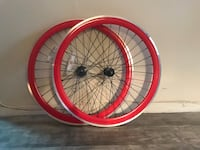 Red Bicycle Rims-Price Firm , 11104