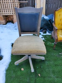Custom repurposed office chair