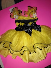 2t bee costume dress didn't have wing when I bought it. Guntersville, 35976