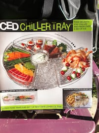 Iced chiller tray
