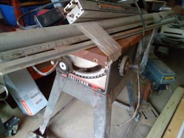 Craftsman Table Saw with Exact Rip Fence.