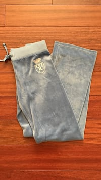 Baby blue JUICY COUTURE track pants 26 km