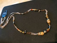Handmade it iridescent crystals beads necklace Falls Church, 22042