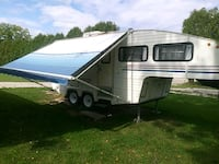 white and gray RV trailer Petrolia, N0N 1R0