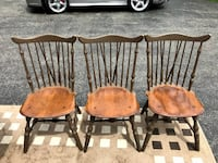 Antique Wooden Chairs (3) $80/chair or $210/set Lake Zurich