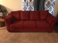 Red couches Shakopee