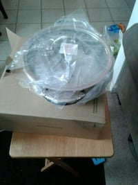 clear glass bowl with box Merced, 95340