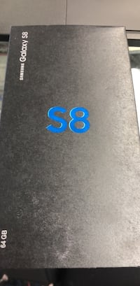 Samsung Galaxy S8, 64 GB, Brand new sealed Toronto, M9V 2X6