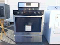 black and gray gas range oven Bristow, 20136