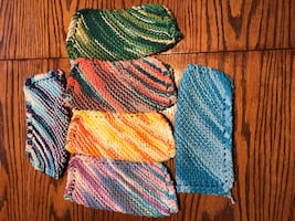 Homemade dish clothes