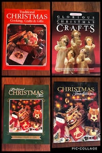 Traditional Christmas Books (4) - Crafts, Cooking & Gifts books Toronto, M9B 0A2