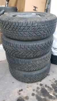 Goodyear UltraGrip  195 65 15 winter tires with rims Mississauga, L5M 3C5