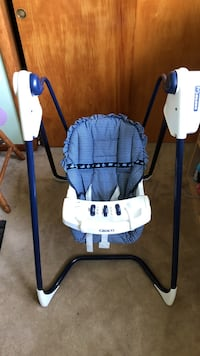 Baby's white and blue swing chair Hagerstown, 21742