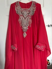 red and silver long sleeve dress Mississauga, L5R 3Z8