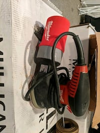 black and red corded power tool Lorton, 22079