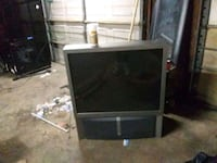 black and gray rear projection television Austin, 72007