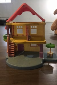 Little people toy house