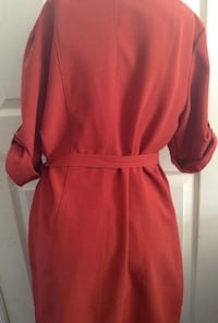 Shelby And Palmer Orange Belted Dress Size 6 STERLING