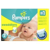 Pampers Swaddlers Diaper Size 2 Markham