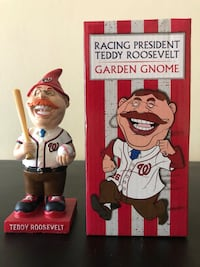 All Star Racing President Teddy Roosevelt Gnome Washington, 20010