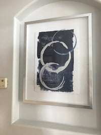black and white abstract painting Cape Coral, 33904