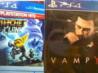 PS4 new sealed game vampyr Toronto, M8Z 5W3