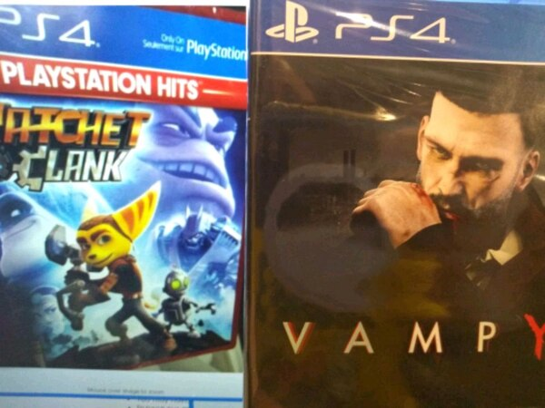 PS4 new sealed game vampyr a7cff5c7-5bdd-4069-a60a-36428a7425c7