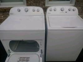 New whirlpool washer and dryer