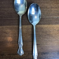 two stainless steel happily and ever after spoons Arlington, 22204
