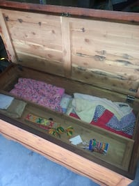 Real cedar chest crafted and made by hand in the 1950s CHARLOTTE
