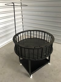 Round Baby Bed Spring Branch, 78070