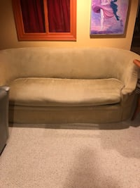 Sofa and side chair both for $50