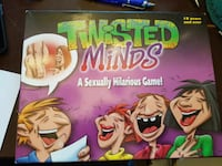 Twisted minds board game / party gane