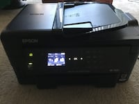 black Epson multi-function printer DAMASCUS