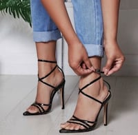 Lace up sandals (39) brand new Toronto, M1T 1Y1