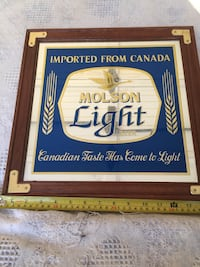 Molson Beer Mirror Plaistow, 03865