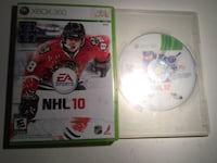 NHL 10 or 12 Xbox 360 games Toronto, M1T 3S1