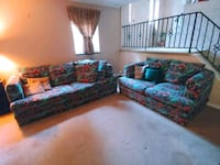 Southwest Style couch and loveseat Laurel, 20707