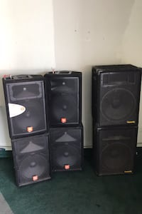 6 High Quality Professional Speakers Milpitas, 95035