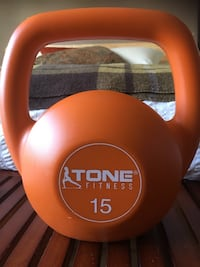 Kettlebell 15lb barely used! Toronto, M4L 2P7