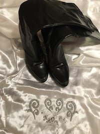 Tall boots size 9 leather  Frederick, 21703