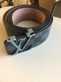 Black LV belt with silver buckle Burtonsville, 20866