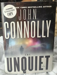 The Unquiet by John Connolly SIGNED (2007, Hardcov Woodstock, 22664