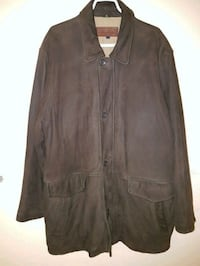 Brooks brothers leather jacket  Ottawa, K1Y 3H7