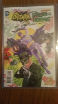 DC batman 66 meets Green hornet #1 Toronto