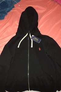 Polo Ralph Lauren black and red hoodie Calgary, T2A 1L9