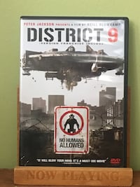 District 9 DVD case Toronto, M1X 1V8